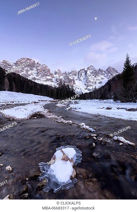 Pala group from Venegia Valley, Trentino, Italy
