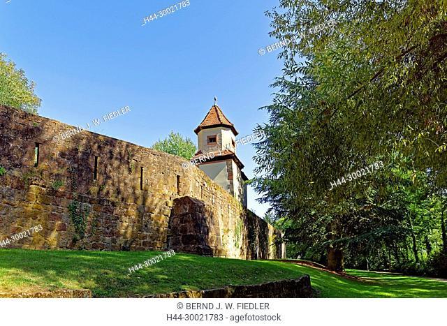 Stadtmauer, Grünanlage
