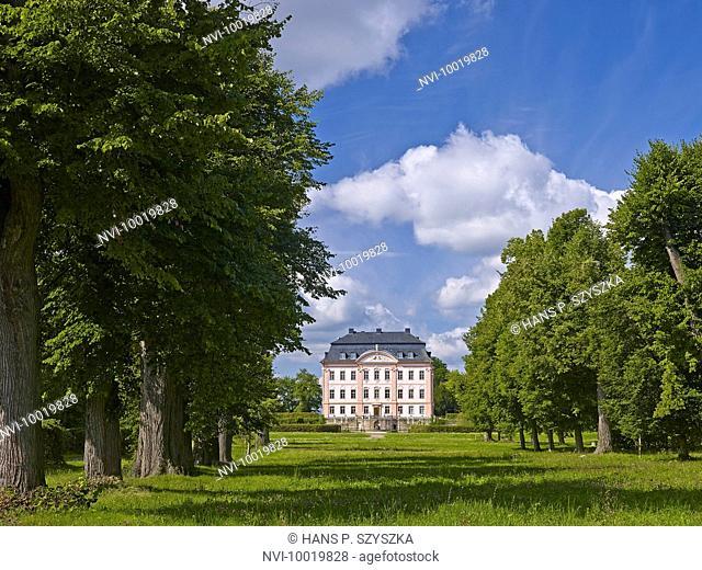 Castle Oppurg near Poeßneck, Thuringia, Germany