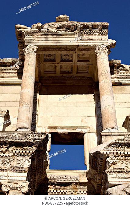 The Library of Celsus, Ephesus, Izmir, Turkey