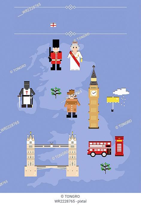 Global landmarks in England