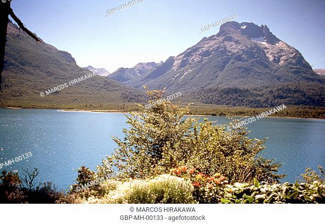 Nahuel Huapi National Park, Mascardi Lake, Monte Galo Crest, Argentina