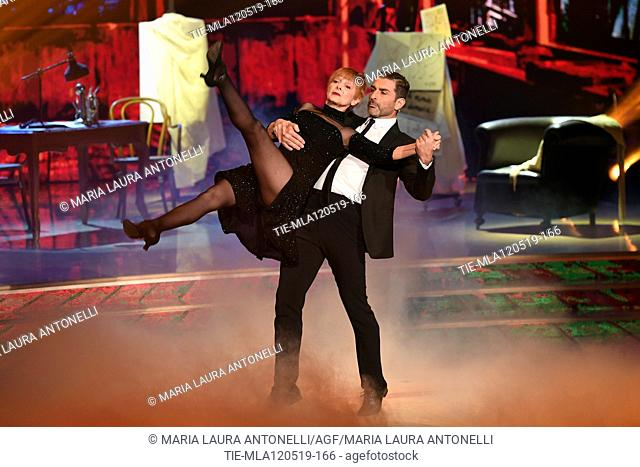 Milena Vukotic during the performance at the tv show Ballando con le setelle (Dancing with the stars) Rome, ITALY-11-05-2019