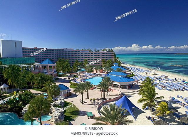 Caribbean, Bahamas, hotel installation, dream beach, ocean