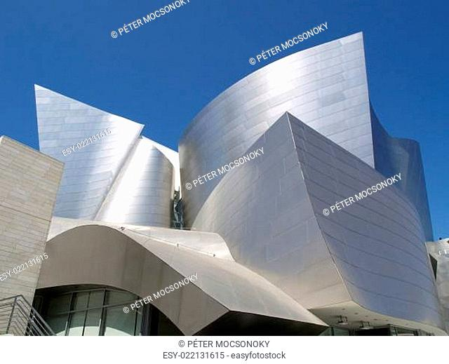 LOS ANGELES - SEPTEMBER 12: Walt Disney Concert Hall in Los Angeles, CA on Septe