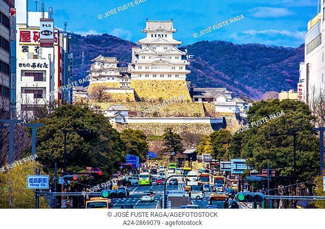 Japan, Himeji City, Himeji Castle, (W.H.)