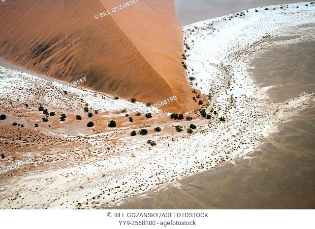 Aerial View of Namib-Naukluft National Park, Namibia, Africa