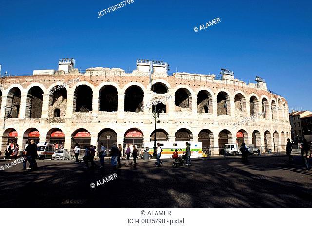 Italy, Verona, arenas