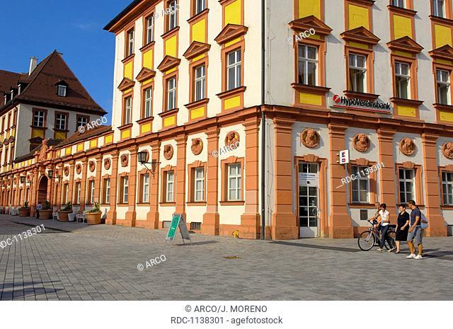 Bayreuth, Altes Schloss, Old Castle, Maximilian street, Upper Franconia, Franconia, Bavaria, Germany