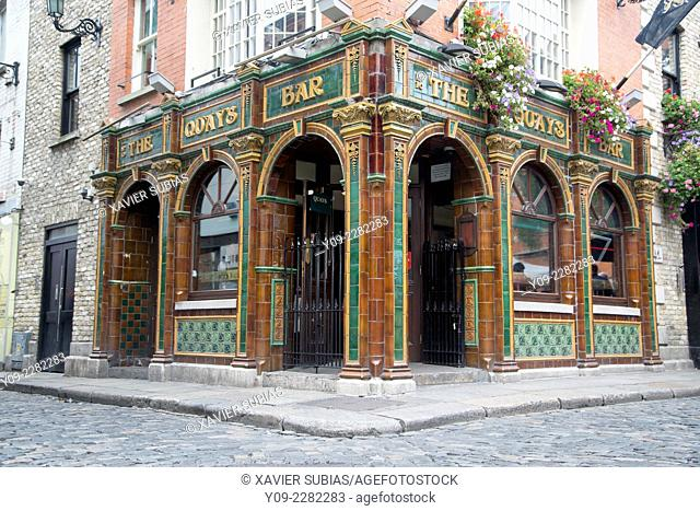 Quays Bar, Temple Bar, Dublin, Leinster, Ireland