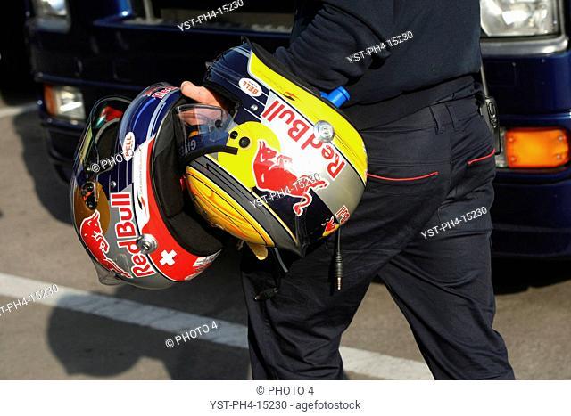 Sébastien Buemi, Jamie Alguersuari, Testing, Circuit de Catalunya, Barcelona, Espanha
