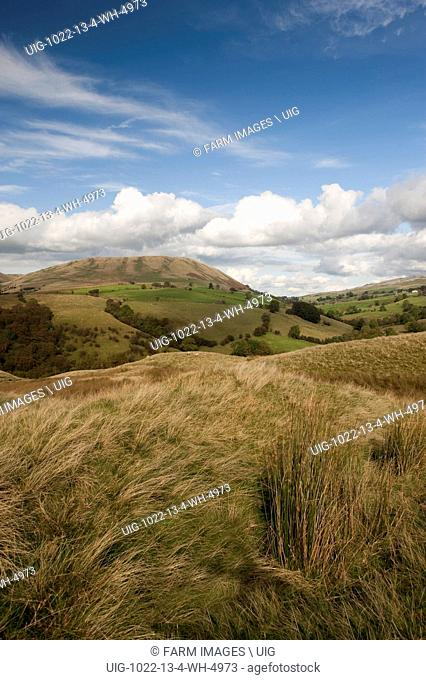 Harter Fell from Bluecaster, in the Howgills. Cumbria. (Photo by: Wayne Hutchinson/Farm Images/UIG)