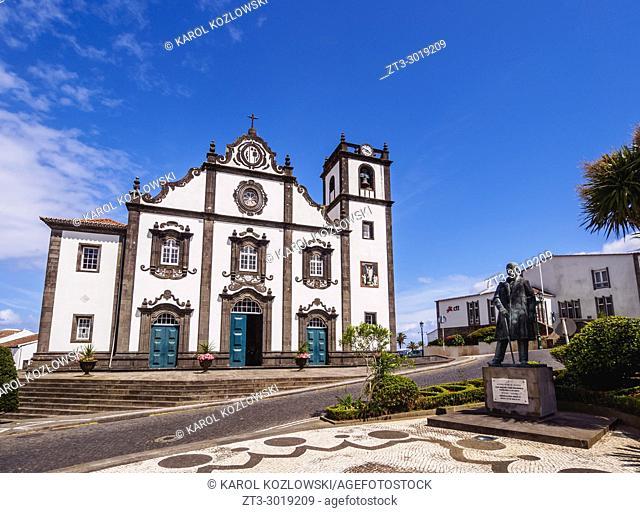 Church of Sao Jorge, Nordeste, Sao Miguel Island, Azores, Portugal