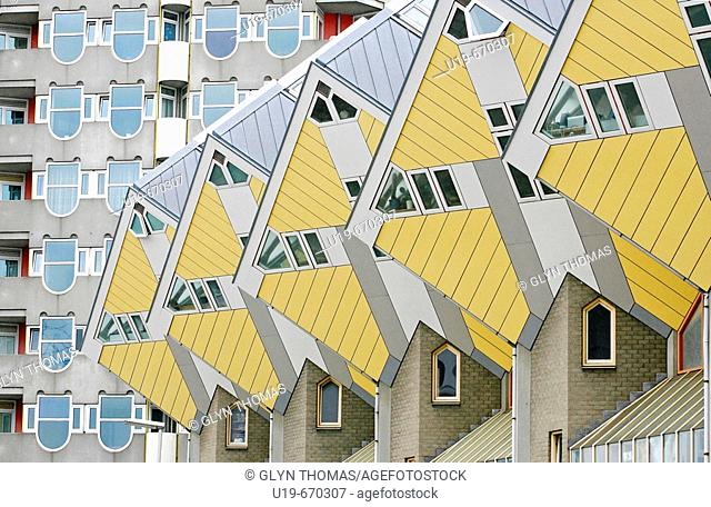 Kubuswoningen, Rotterdam, Netherlands, Europe