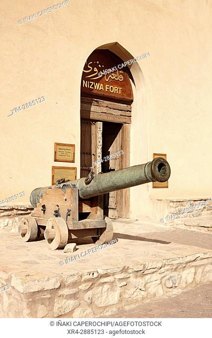 Canon, Nizwa Fort, Oman