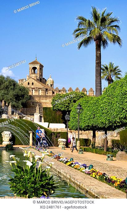 The Alcázar de los Reyes Cristianos also known as the Alcázar of Córdoba, is a medieval Alcázar located in the historic centre of Córdoba