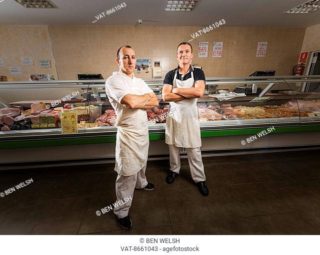 Butchers; Tarifa, Cadiz, Andalusia, Spain