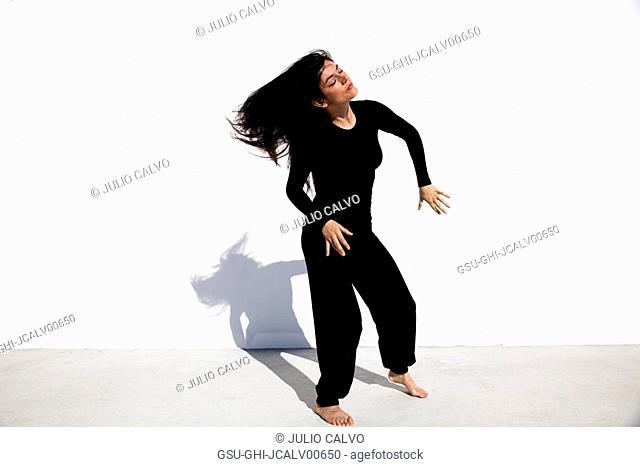 Woman Performing Interpretive Dance 2