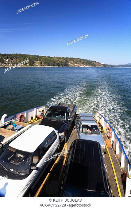 Brentwood Bay- Mill Bay ferry, Saanich Inlet, British Columbia
