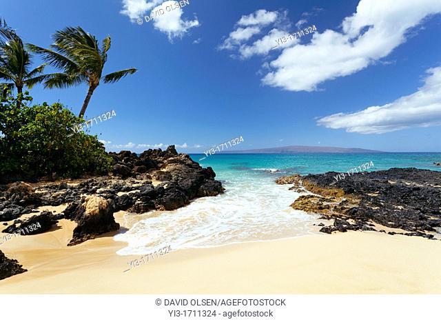 Paradise found at Secret Beach, Makena, Maui, Hawaii