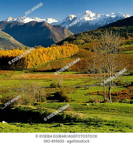 French Pyrenees. France