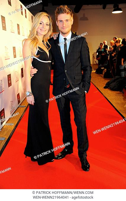 SMAGO Award 2014 at Best Western Hotel Moa in Moabit - Arrivals Featuring: Syra Feiser,Joern Schloenvoigt Where: Berlin, Germany When: 26 Nov 2014 Credit:...