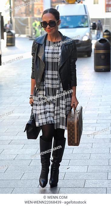 Myleene Klass leaving Smooth FM radio station Featuring: Myleene Klass Where: London, United Kingdom When: 14 Jan 2015 Credit: WENN.com
