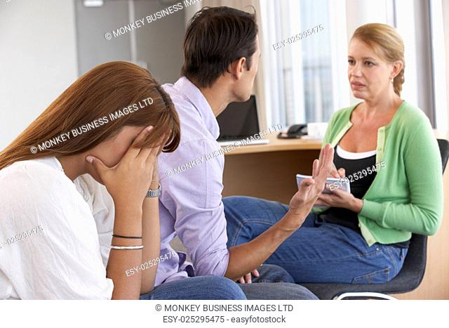 Couple Having Counselling Session