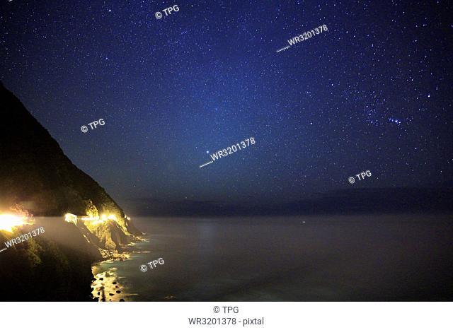 Hualien Qingshui Cliff Starry Sky; Hualien Pacific Starry Sky