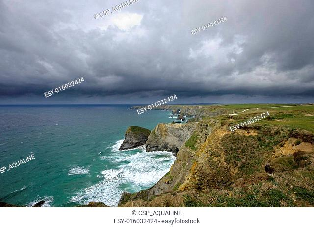 Bedruthan Steps, Newquay, Cornwall
