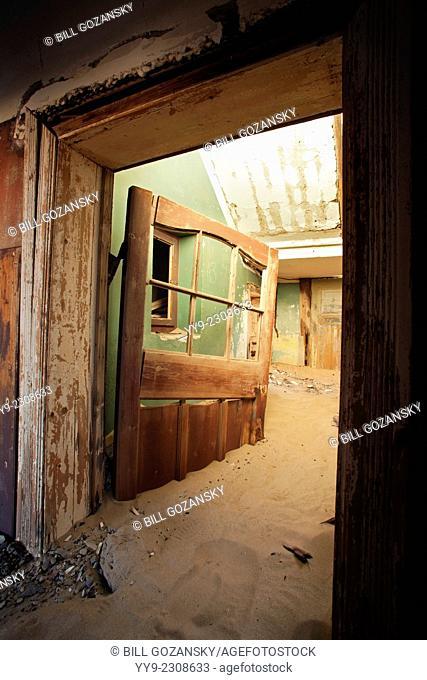 Kolmanskop Ghost Town - Luderitz, Namibia, Africa