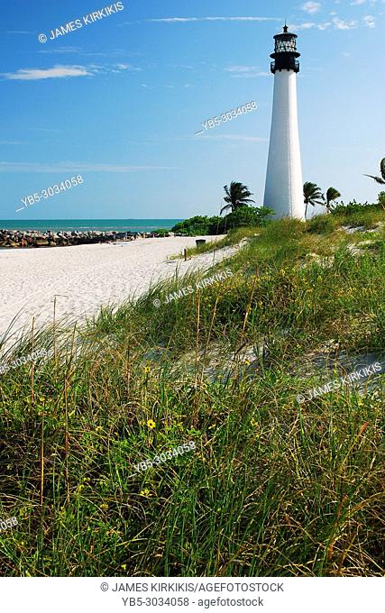 The Cape Florida Light in Key Biscayne
