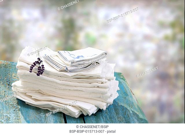 Stack of linens