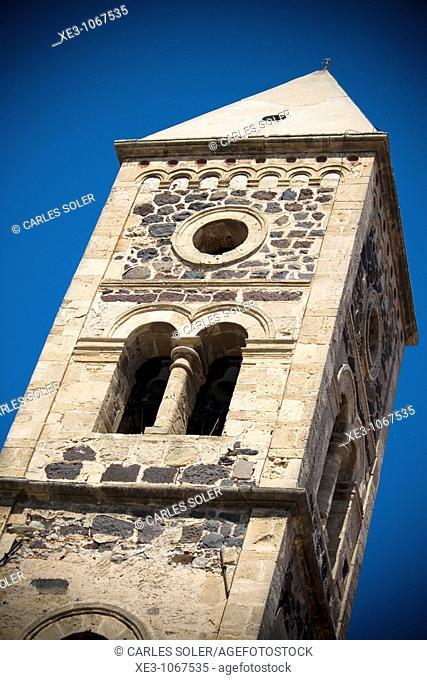 Campanario de la Basílica de Santa Giusta, Cerdeña