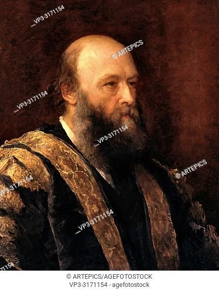 Watts George Frederick - Robert Arthur Talbot Gascoyne-Cecil 3rd Marquess of Salisbury