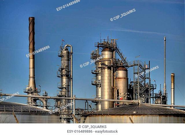 Oil Refinery in Germany