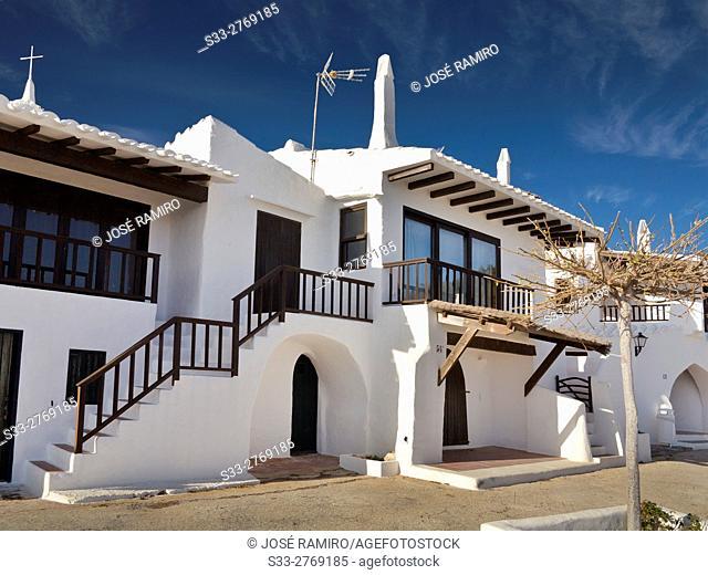 Binibeca. Menorca. Islas Baleares. Spain. Europe