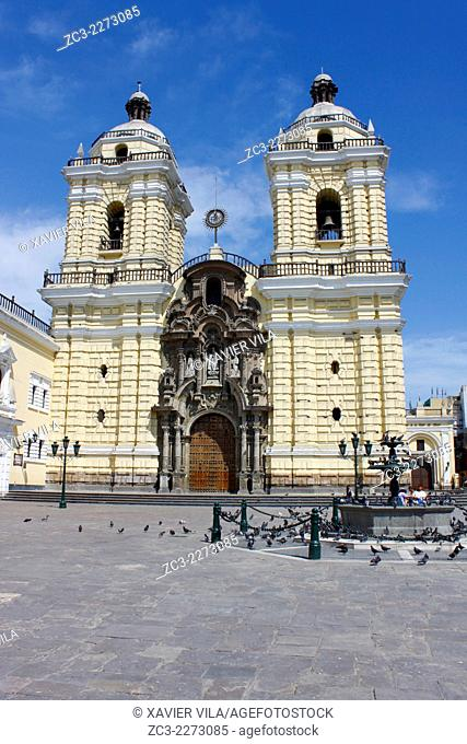 Church and Convent of San Francisco de Lima, Monastery of St. Francis, Lima, Peru