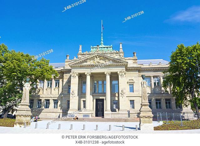 Tribunal de Grande Instance, high court, Palais de Justice, Strasbourg, Alsace, France