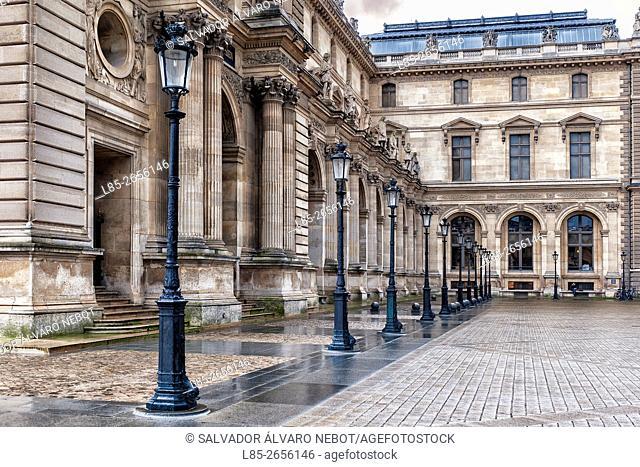 Pavilion Molien. Palais du Louvre, Paris, France