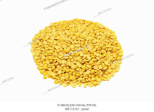 Yellow split lentils
