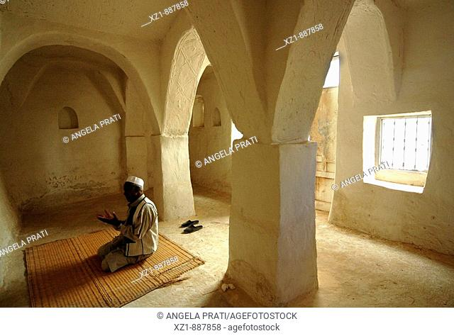 Mosque prayer hall, Ghadamis, Libya
