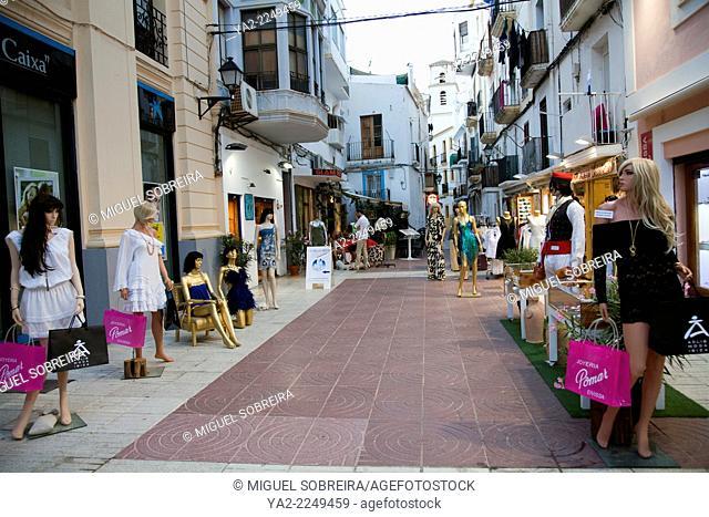 Ibiza Old Town Shopping Streets - ibiza