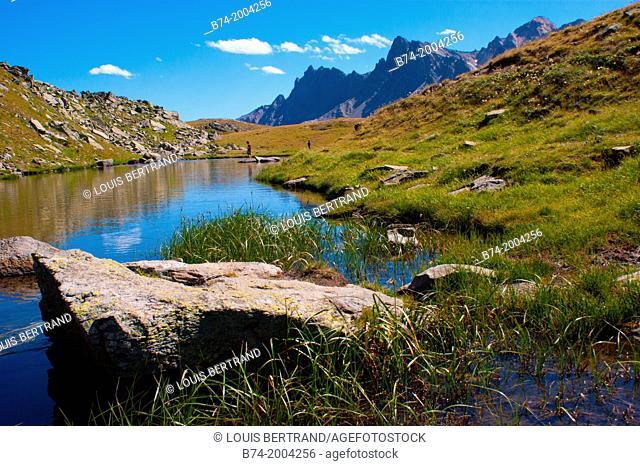 lac long,vallee de la claree,nevache,hautes alpes,france