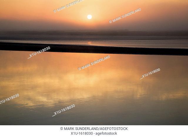 Misty Sunrise at Newnham on Severn Gloucestershire England
