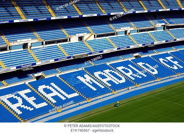 Santiago Bernabeu Stadium. Madrid. Spain