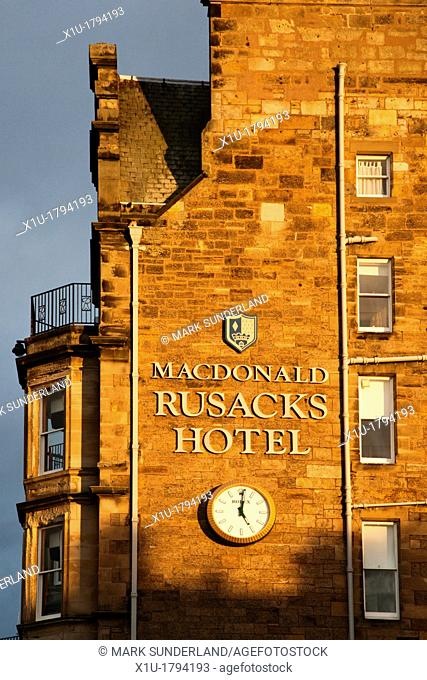 Rusacks Hotel St Andrews Fife Scotland