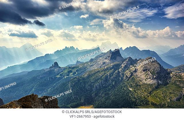 Mountain landscape, Dolomites, Italy