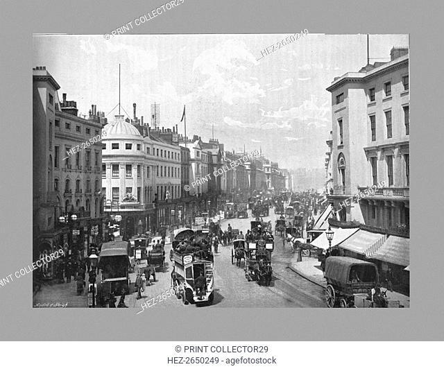 Regent Street, London, c1900. Artist: York & Son