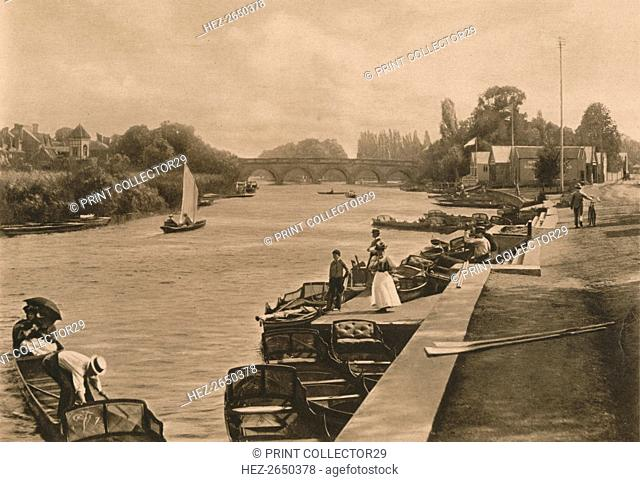 'The Thames at Maidenhead', 1902. Artist: Unknown